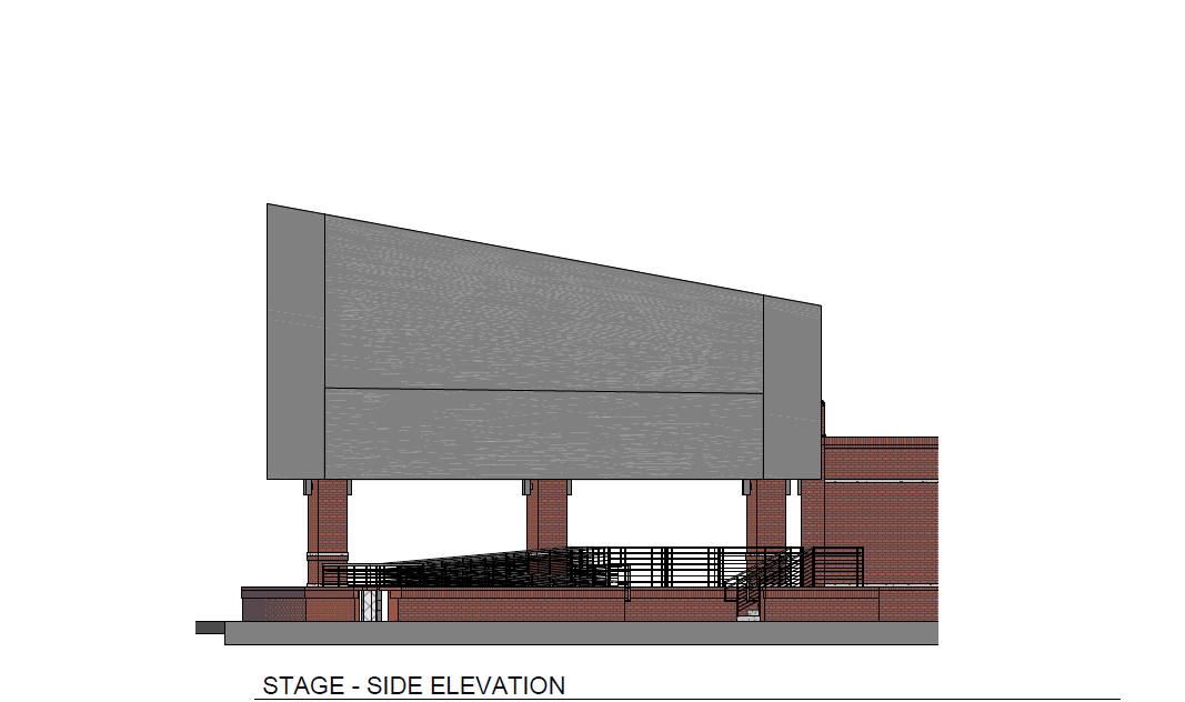 Stage - Side Elevation